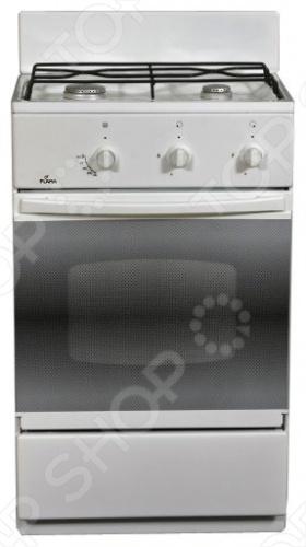 Плита Flama CG3202 это отличная плита, которая прекрасно подойдет в дизайн вашей кухни. Варочная панель, как и духовка газовая. Управление механическое, переключатели поворотные. Духовка оснащена откидной дверцой и подсветкой. Панель варочной поверхности сделана из эмали, 2 конфорки, легко очищается.