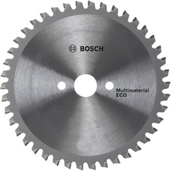 Диск отрезной Bosch Multi ECO 2608641801Диски пильные<br>Диск отрезной Bosch Multi ECO 2608641801 это отличный отрезной диск по твердому и мягкому дереву. Диск делает точный и качественный пропил, он обеспечивает четкие кромки и чистое пиление. Материал корпуса: высококачественная инструментальная сталь. В случае, если вам необходимо провести качественную резку, этот диск именно то, что вам нужно, он предназначен для использования с дисковыми пилами.<br>