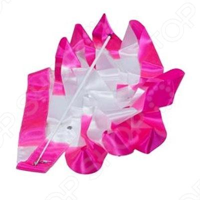 Лента гимнастическая 6 м A236-1    /Розовый