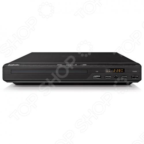 DVD-плеер BBK DVP030S это устройство с ультра-компактным корпусом, предназначенное для просмотра ваших любимых фильмов, записанных свадеб и семейных торжеств. Это недорогой плеер с хорошим соотношением цена качество. Для удобства использования он оснащен информационным дисплеем. Поддержка форматов:  MP3  WMA  MPEG4  DivX  XviD  VideoCD  SVCD  HDCD  JPEG BBK DVP030S имеет стереофонический аудиовыход и композитный видеовыход. Система Dolby Digital гарантирует отличное звуковое сопровождение к фильмам. В наличии высокоскоростной USB-порт.