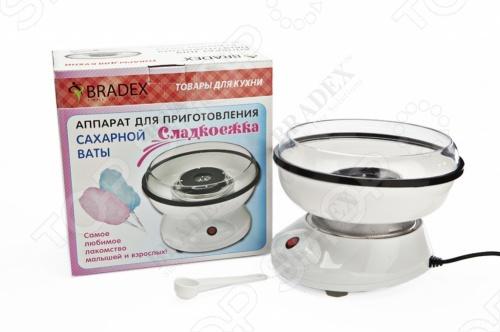 фото Аппарат для приготовления сахарной ваты Bradex «Сладкоежка», Необычная техника для кухни