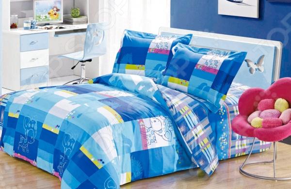 Комплект постельного белья Softline 09336. 2-спальный2-спальные<br>Комплект постельного белья Softline 09336 это незаменимый элемент вашей спальни. Человек треть своей жизни проводит в постели, и от ощущений, которые вы испытываете при прикосновении к простыням или наволочкам, многое зависит. Чтобы сон всегда был комфортным и безмятежным, а пробуждение лёгким и приятным, мы предлагаем вам этот качественный комплект постельного белья. Благодаря красивой расцветке и высококлассным материалам изготовления, атмосфера вашей спальни наполнится теплотой и уютом, а вы испытаете множество сладостных мгновений спокойного сна. В качестве сырья для изготовления этого изделия использованы нити хлопка. Натуральное хлопковое волокно известно своей прочностью и легкостью в уходе. Волокна хлопка состоят из целлюлозы, которая отлично впитывает влагу. Хлопок дышит и согревает лучше, чем шелк и лен. Поэтому одежда из хлопка гарантирует владельцу непревзойденный комфорт, а постельное белье приятно на ощупь и способствует здоровому сну. Не забудем, что хлопок несъедобен для моли и не деформируется при стирке. За эти прекрасные качества он пользуется заслуженной популярностью у покупателей всего мира.<br>