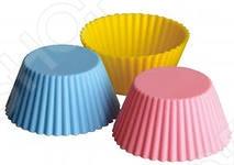 Набор форм для выпечки силиконовый Regent «Тарталетки»