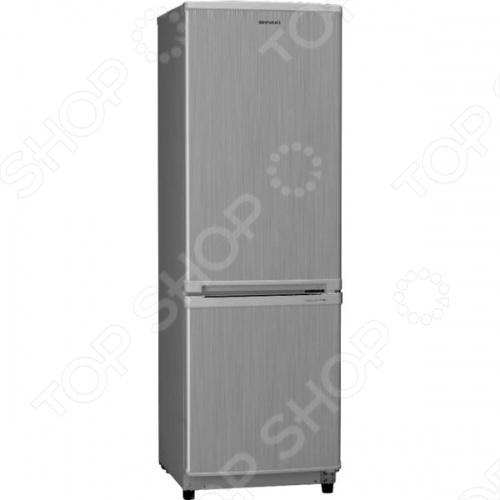 Холодильник Shivaki SHRF-152DS с морозильной камерой. Отличный вариант для квартиры или офиса. Полки холодильника сделаны из надежного закаленного стекла, которое выдерживает значительный вес и легко моется. Предусмотрена переносная полка для бутылок, есть лоток для льда. Общий объем составляет 135 литров.