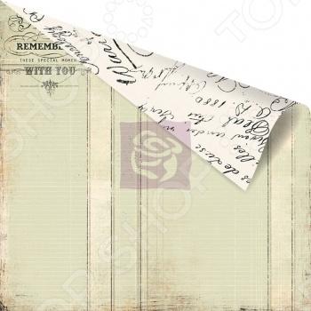 фото Бумага для скрапбукинга двусторонняя Prima Marketing Love Ledger, купить, цена