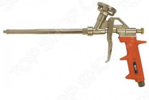 Пистолет для монтажной пены FIT 14270 предназначен для профессионального использования. Материал: корпус - алюминиевый сплав, клапан- алюминиевый сплав с никелевым покрытием, подающая трубка - латунь, пластиковая ручка. Очень удобен в эксплуатации.