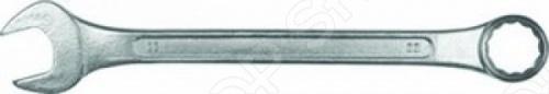 Ключ комбинированный КФ CR-VКомбинированные ключи<br>Ключ комбинированный КФ CR-V - это прочный и качественный ручной инструмент с двумя типами зевов - кольцевым и рожковым. Изделие полностью изготовлено из хромованадиевой стали и имеет антикоррозийное цинковое покрытие. Ключ предназначается для работы с винтовыми соединениями, имеющими в основе шестигранник. Инструмент применяется как в быту, так и в производственных цехах, различных мастерских.<br>