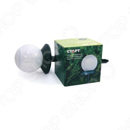 Светильник садовый Старт «Сфера» светильник садовый журавль 16х26 5х78см металл