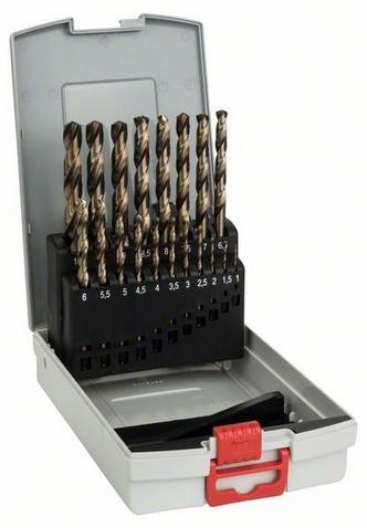 Набор сверл по металлу Bosch 2608587014 пилки для лобзика по металлу для прямых пропилов bosch t118a 1 3 мм 5 шт