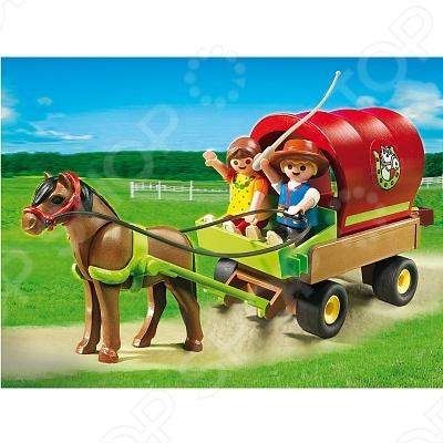 фото Лошади:Детский вагончик с пони Playmobil 5228 5228pm, Другие виды конструкторов