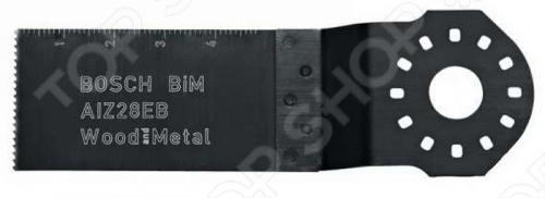 Полотно пильное погружное Bosch BIM AIZ 28 EB погружное пильное полотно bosch bim aiz 32 apb wood and metal 2 608 661 644