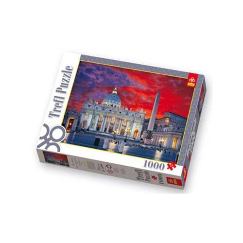 Пазл 1000 элементов Trefl «Базилика Святого Петра»