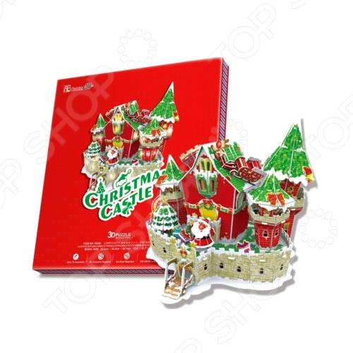 Пазл 3D CubicFun «Сказочный рождественский замок»Пазлы 3D<br>Пазл 3D CubicFun Сказочный рождественский замок позволит вам и вашему ребенку создать собственными руками уменьшенную копию известнейшего во всем мире сооружения. Собирая ее, малыш развивает образное мышление, мелкую моторику рук, логику и внимательность. Кроме того, по завершению работы, перед вами появится отличная модель, которую можно разместить у себя на столе или другой поверхности, придав окружающему интерьеру оригинальности и индивидуальности.<br>