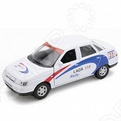 Модель машины 1:34-39 Welly Lada 110. Rally. В ассортименте