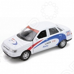 Модель машины 1:34-39 Welly Lada 110. Rally welly 42377ry велли модель машины 1 34 39 lada 2108 rally