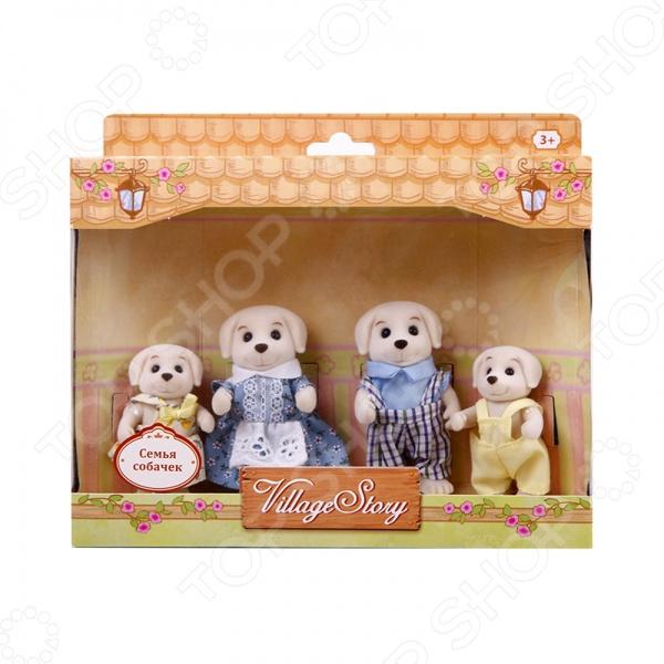 Набор игрушечных животных Village Story «Семья собачек»