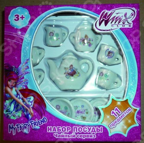Набор посуды из фарфора 1 Toy Т56344 съёмн ручка для наборов посуды 50шт 1141376
