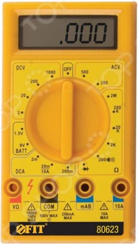 Детектор напряжения FIT EC-5308B позволяет измерять напряжение постоянного 0.1 мВ-1000 В и переменного тока 0.1 В-500 В , величину постоянного тока 1 мкА-10 А и сопротивление цепи 0.1 Ом-2 МОм . Подает звуковой сигнал в режиме проверки целостности электроцепи. Предусмотрен индикатор разряда батареи. В комплекте батарея 9B, а также провод с наконечником и щупом.
