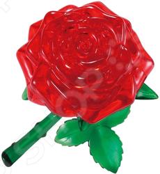 Кристальный пазл 3D Crystal Puzzle «Роза красная» metal diy nano 3d puzzle model tiger tank kids diy craft 3d metal model puzzles 3d solid jigsaw puzzle