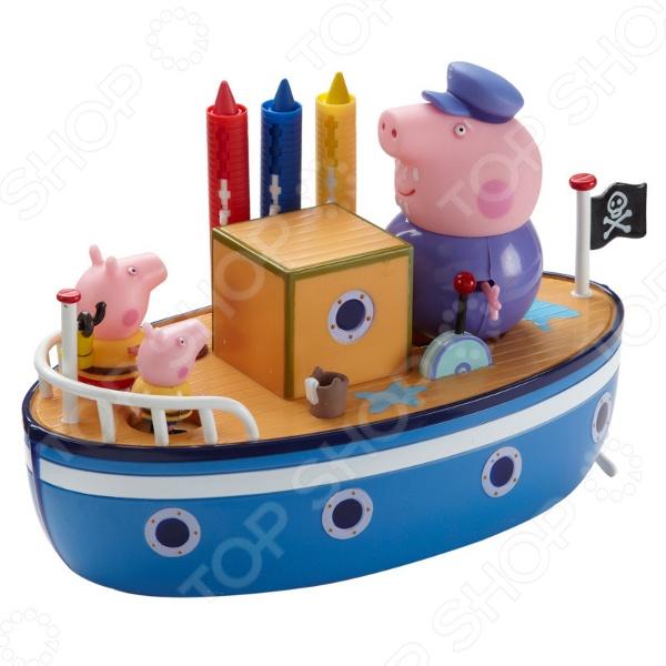 Набор игровой Peppa Pig «Морское приключение» свиньи page peppapig 30см плюшевые игрушки peppa pig джордж грязи