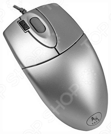 Мышь A4Tech OP-620D Grey USB acan 9800 usb laser handheld barcode scanner reader for desktop laptop agate grey basalt grey
