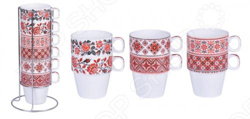 Набор чайных кружек Bohmann ВНР-361. В ассортименте