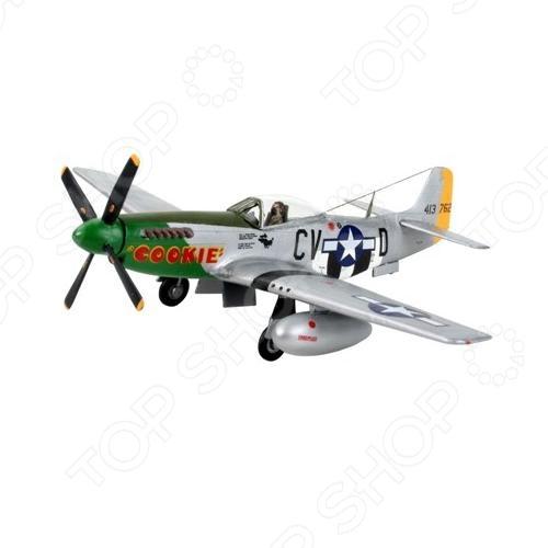 Сборная модель истребителя Revell P-51 D Mustang revell набор автомобиль shelby mustang gt 350 h 1к24 page 1