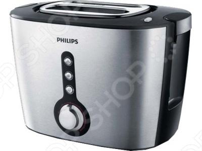 Тостер Philips HD 2636 20 оборудован сверхшироким отделением для любых ломтиков, толстых или тонких, а также подставкой для подогрева булочек и круассанов.Корпус произведен из матовой нержавеющей стали.При необходимости вы сможете настроить аппарат для любой степени обжарки. Тостер оснащен специальным подъемником для безопасного извлечения небольших хлебцев.Благодаря этому можно приподнять небольшие кусочки хлеба и с легкостью извлечь их, не обжигаясь.