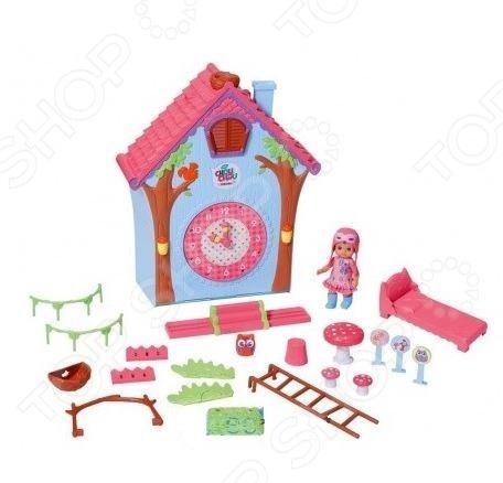 Кукла и домик Zapf «Мини-птичка Шу Шу»Кукольные домики. Мебель<br>Кукла и домик Zapf Мини-птичка Шу Шу - станет отличным подарком для девочки. У малышки Шу Шу появился свой домик и теперь она может весело проводить в нем время. На одной из стенок домика есть часики, которые помогут ребенку выучить время. В комплект входят множество оригинальных аксессуаров, которые сделают процесс игры еще более интересным и увлекательным. Оригинальный дизайн и яркие цвета на долго привлекут внимание ребенка, девочка сможет придумывать различные сюжеты для игр и тем самым развивать свою память, мышление и воображение. Игрушка выполнена из качественных и безопасных материалов.<br>