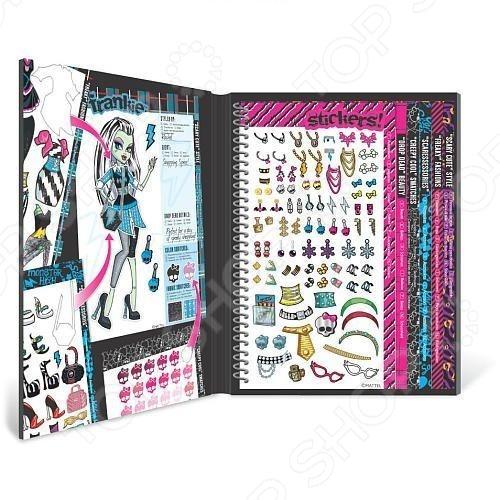 Набор с наклейками Fashion Angels «Школа монстров» набор для плетения фенечек fashion angels школа монстров