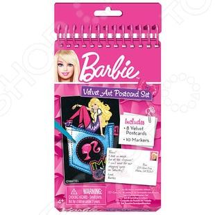 Набор бархатных мини-открыток Fashion Angels «Barbie» barbie basics с рук