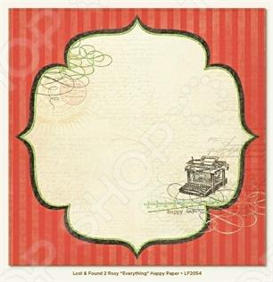 фото Бумага для скрапбукинга двусторонняя Morn Sun Happy, купить, цена