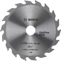 Диск отрезной Bosch Optiline ECO 2608641785 диск отрезной для торцовочных пил bosch optiline wood 2608640432