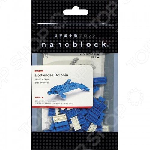 Мини-конструктор Nanoblock NBC_003 «Дельфин» конструкторы fanclastic конструктор fanclastic набор роботоводство