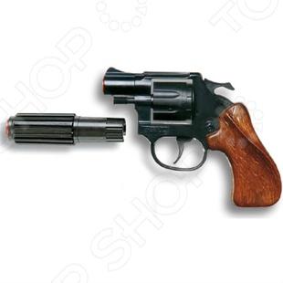 Пистолет с глушителем Edison Giocattoli Випер пистолет edison giocattoli ларами