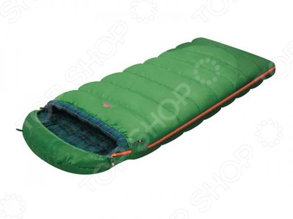 Спальный мешок Alexika Siberia alexika siberia plus левый 9252 01012 зеленый