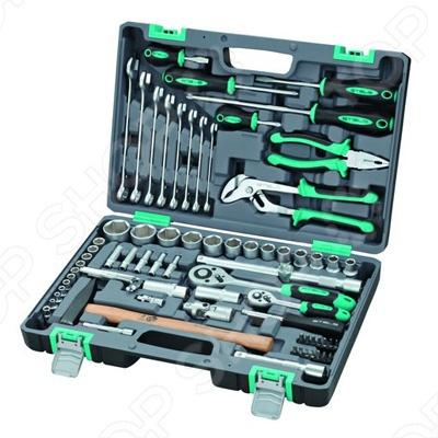 Набор инструментов Stels из 76 предметов в кейсе набор инструментов stels из 57 предметов в кейсе