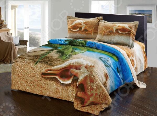 Комплект постельного белья Softline 09673. ЕвроЕвро<br>Комплект постельного белья Softline 09673 это незаменимый элемент вашей спальни. Человек треть своей жизни проводит в постели, и от ощущений, которые вы испытываете при прикосновении к простыням или наволочкам, многое зависит. Чтобы сон всегда был комфортным, а пробуждение приятным, мы предлагаем вам этот комплект постельного белья. Красивое оформление и высокое качество комплекта гарантируют, что атмосфера вашей спальни наполнится теплотой и уютом, а вы испытаете множество сладких мгновений спокойного сна. В качестве сырья для изготовления этого изделия использованы нити хлопка. Натуральное хлопковое волокно известно своей прочностью и легкостью в уходе. Волокна хлопка состоят из целлюлозы, которая отлично впитывает влагу. Хлопок дышит и согревает лучше, чем шелк и лен. Не забудем, что хлопок несъедобен для моли и не деформируется при стирке. Комплект постельного белья Softline выполнен из ткани сатин. Полотно имеет гладкую и шелковистую лицевую поверхность, не уступающую по качеству шелку. Кроме того, данный тип ткани сохраняет свою прочность и привлекательный вид даже после многочисленных стирок. Главное, соблюдать рекомендации по уходу от производителя. Необходимо стирать при температуре, указанной на ярлычке, с использованием порошка для цветного белья. Не следует прибегать к применению хлорсодержащих средств и отбеливателей. Желательно выворачивать белье наизнанку перед стиркой.<br>