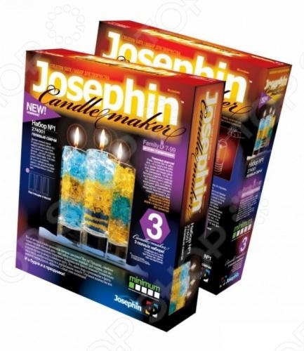 Набор для изготовления гелевых свечей Josephin №1 двойной нож для изготовления цветов через интернет