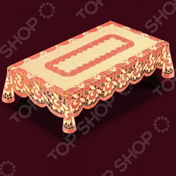 Скатерть Haft 38780Скатерти. Салфетки<br>Скатерть Haft 38780 это основной элемент классического оформления обеденного стола. Скатерть прекрасно дополнит комплект столового белья, создав атмосферу изысканности на вашей кухне или в столовой, подчеркнув при этом радушие хозяев. Скатерть изготовлена из полиэстера, который практически не мнется, легко отстирывается от загрязнений, не притягивает пыль и не требует глажки. Благодаря этому ткань способна выдержать сотни стирок без потери цвета и прочности. Обычные материалы со временем выгорают, на них собирается пыль, появляются неприятные запахи. С полиэстером этого не происходит скатерть почти не пачкается и не впитывает запахи, при этом вы очень легко ее постираете и высушите. Благодаря качественным материалам и стильному виду, скатерть потрясающе приятная на ощупь и гармонично сочетается с посудой и аксессуарами любой фактуры и цвета.<br>