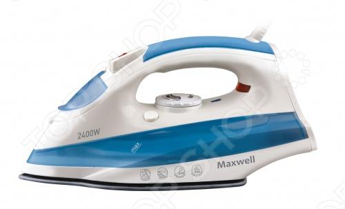 Утюг Maxwell MW-3020Утюги<br>Утюг Maxwell MW-3020 с керамическим покрытием подошвы. Резервуар для воды имеет объем 280 мл. В наличии функция вертикального отпаривания, парового удара и разбрызгивания. Регулируется постоянная подача пара. Предусмотрены система самоочистки и защита от накипи. Работает от сети 220-240 В. Мощность 2400 Ватт. В комплекте мерный стаканчик.<br>