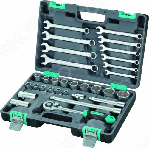 Набор инструментов Stels 14102 ящик для инструментов stels 22 28х23 5х56см 90713