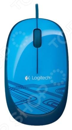 Мышь Logitech M105 Blue USB ants 4 гб флешка диск usb usb 2 0 металл m105 4