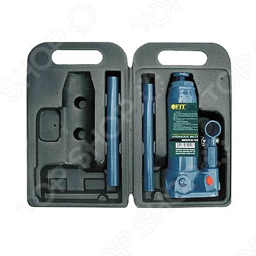 Домкрат гидравлический бутылочный в чемоданчике FIT 64562