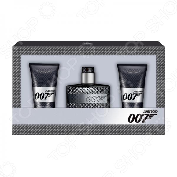 Набор мужской: туалетная вода и гель для душа James Bond Agent 007 (Eau De Toilette + Shower Gel), 50 мл женская туалетная вода eau du ciel vivienne sabo 50 мл