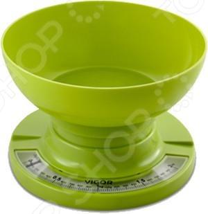 Весы кухонные Vigor HX-8209 весы vigor hx 8209