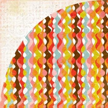 фото Бумага для скрапбукинга двусторонняя Basic Grey Good afternoon, купить, цена