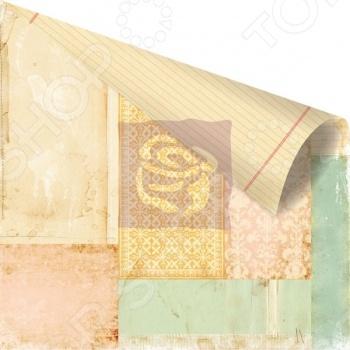 фото Бумага для скрапбукинга двусторонняя Prima Marketing Collage, купить, цена
