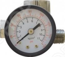 Регулятор подачи воздуха с манометром FIT 81182Прочие аксессуары и комплектующие для ремонта и строительства<br>Регулятор подачи воздуха с манометром FIT 81182 это отличный регулятор подачи воздуха с манометром, который предназначен для контроля и регулировки подачи воздуха. Устанавливается на входе в краскопульт. Если вам необходимо следить за количеством используемых материалов, то этот регулятор именно то, что вам нужно.<br>