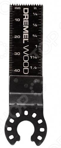 Полотно пильное для резки дерева и металла заподлицо Dremel MM470 насадка dremel multi max mm470